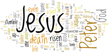Resurrection of Our Lord 2016 Wordle