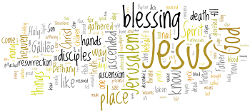 Ascension of Our Lord 2016 Wordle