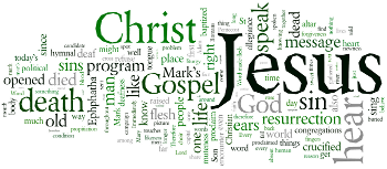 Twelfth Sunday after Trinity 2016 Wordle