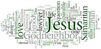Thirteenth Sunday after Trinity 2016 Wordle