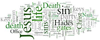 Sixteenth Sunday after Trinity 2016 Wordle