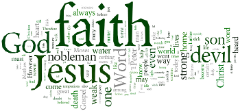 Second Sunday ater Michaelmas 2016 Wordle