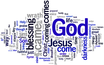 Wednesday of Gaudete 2016 Wordle