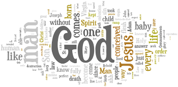 Eve of the Nativity of Our Lord 2016 Wordle