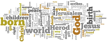 The Epiphany of Our Lord 2017 Wordle