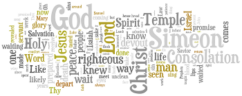First Sunday after Christmas 2017 Wordle