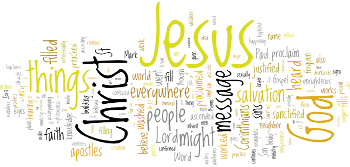 Ascension of Our Lord 2019 Wordle