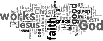 Presentation of the Augsburg Confession (transferred) 2019 Wordle
