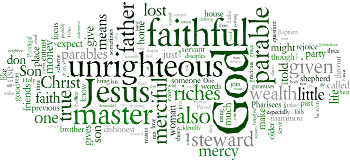 Ninth Sunday after Trinity 2019 Wordle