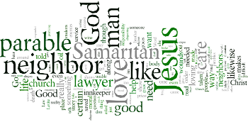 The Thirteenth Sunday after Trinity 2019 Wordle