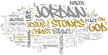 The Baptism of Our Lord 2020 Wordle