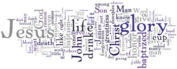 Lent 5B 2012 Wordle