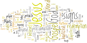 Ascension of Our Lord 2013 Wordle