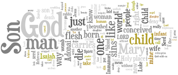 Eve of the Nativity of Our Lord 2013 Wordle