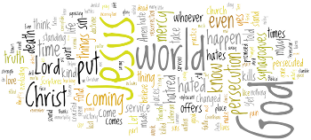 Exaudi 2013 Wordle