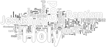 Holy Trinity 2013 Wordle