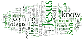 Last Sunday of the Church Year 2013 Wordle