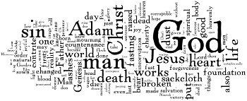 Ash Wednesday 2014 Wordle