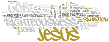 Baptism of Our Lord 2014 Wordle
