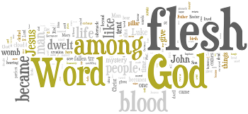 The Nativity of Our Lord 2014 Wordle