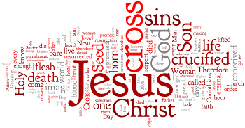 Holy Cross Day 2014 Wordle