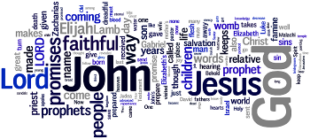 Mid-week Advent III 2014 Wordle