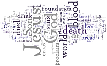Mid-week Lent I 2014 Wordle