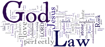 Mid-week Lent IV 2014 Wordle