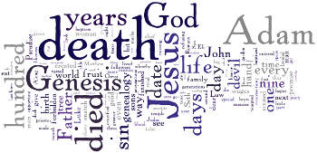 Mid-week Lent V 2014 Wordle