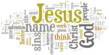 Circumcision and Name of Jesus 2015 Wordle