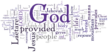 Laetare 2015 Wordle