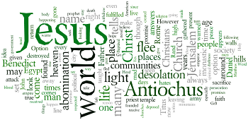 The Sixth Sunday after Michaelmas 2015 Wordle