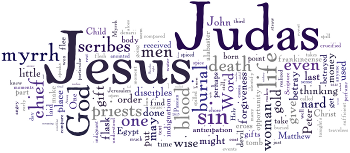 Mid-week Lent I 2015 Wordle