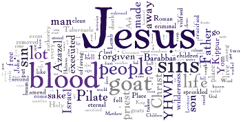 Mid-week Lent V 2015 Wordle