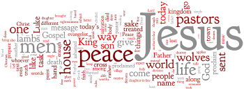 St. Luke, Evangelist 2015 Wordle