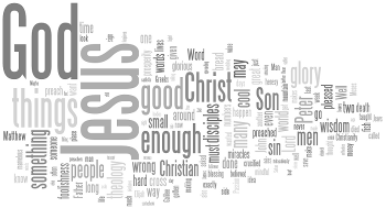 Transfiguration of Our Lord 2015 Wordle