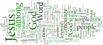 The Tenth Sunday after Trinity 2015 Wordle