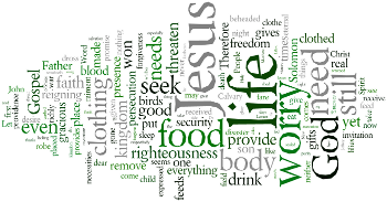 The Fifteenth Sunday after Trinity 2015 Wordle