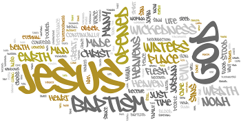 The Baptism of Our Lord 2016 Wordle
