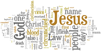 The Circumcision and Name of Jesus 2016 Wordle