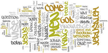 The Epiphany of Our Lord 2016 Wordle