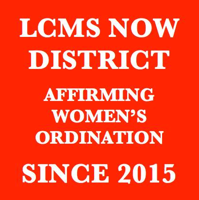 NOW District Affirms Women's Ordination