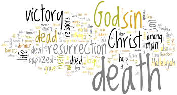 Resurrection B 2012 Wordle