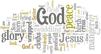 The Eve of the Nativity of Our Lord 2014 Wordle