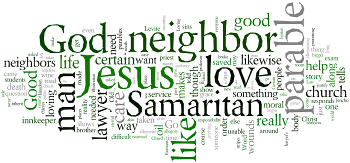 The Thirteenth Sunday after Trinity 2015 Wordle